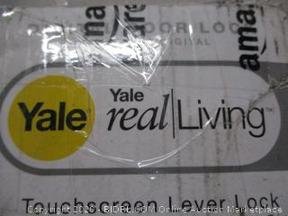 Yale Real Living Touchscreen Lever Lock (Retail Price $262.99)