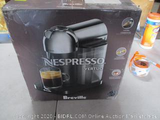 Nespresso by Breville Vertuo Coffee and Espresso Machine (Retail Price $201.99)