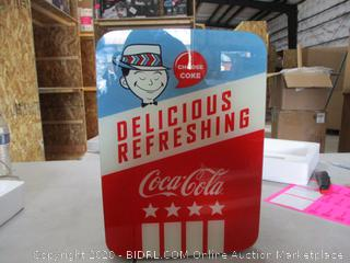 Cooluli K10LGA Mini Fridge Coca-Cola Americana Retro (10 Liter/12 Can)-Portable AC/DC Powered Cooler and Warmer