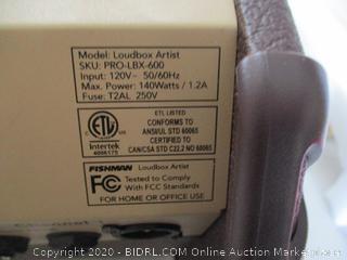 Fishman Loudbox Artist Acoustic Guitar Amplifier (Retail Price $649.95)