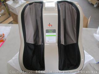 Human Touch Reflex SOL Foot and Calf Shiatsu Massager with Heat and Vibration Foot Massage (Retail Price $298.28)