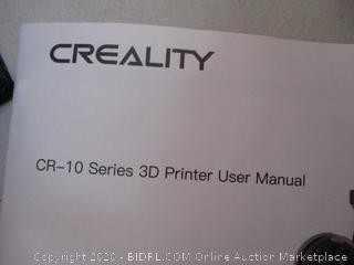Creality 3D Printer CR-10 Mini 3D Aluminum DIY Printer with Resume Print Open Source Large Print Size 300x220x300mm (RETAIL $330)