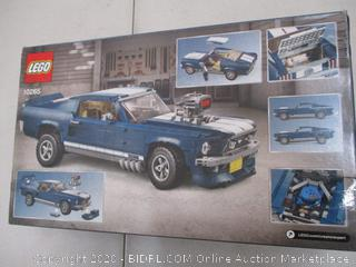LEGO Creator Expert Ford Mustang 10265 Building Kit (1471 Pieces) SEALED (RETAIL $150)