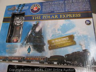 Lionel The Polar Express Electric O Gauge Model Train Set with Remote (RETAIL $280)