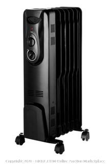 OmniHeat Oil Filled Radiator Heater CYWE08-7 1500 watts Large (powers on) -rack