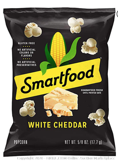 Smartfood 40 pack count White Cheddar Cheese Popcorn