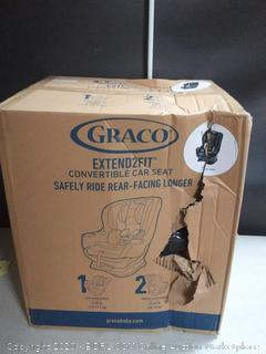 Graco Extend2Fit Convertible Car Seat Ride Rear Facing Longer with Extend2Fit, Gotham (online $149)