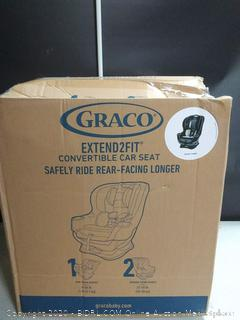 Graco Extend2Fit Convertible Car Seat Ride Rear Facing Longer with Extend2Fit, Gotham (online $159)