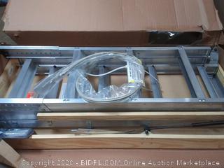 Louisville aluminum attic ladder Elite energy series