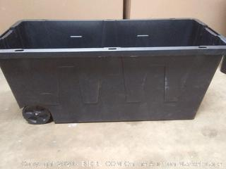Commander 23.2 x 21.1 x 46.5 in 64 gal storage tub (needs handles)