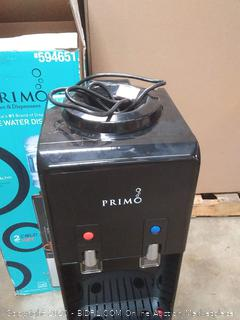 Primo Deluxe water dispenser to water temps cold and hot