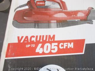 Toro Electric Blower, Vacuum, Mulcher