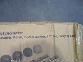 Croquet Set (Box Damage)