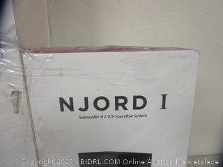 Njord 1 Subwoofer Soundbar System (Please Preview)