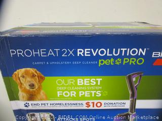 Bissell ProHeat 2X Revolution Pet Pro Deep Cleaner (Please Preview)