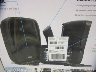 Portable PA System (Please Preview)