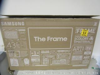 "Samsung 43"" TV the Frame"