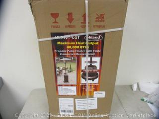 Propane Patio Heater (Please Preview)