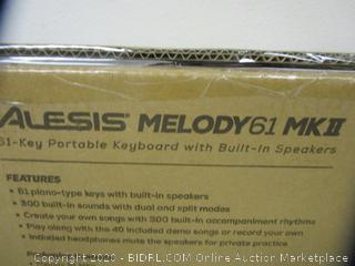 Alesis Melody61 Keyboard (Please Preview)
