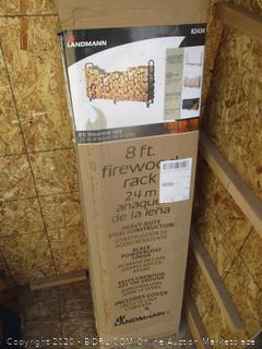 8 ft. Firewood Rack