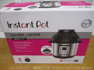 Instant Pot Duo Crisp 11-in-1 Air Fryer, Electric Pressure Cooker, Slow Cooker, 8 Quart