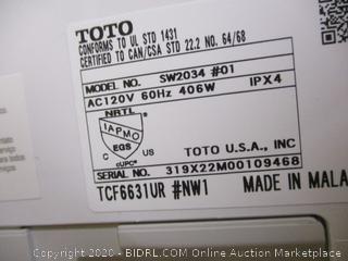 TOTO SW2034 C100 WASHLET Electronic Bidet Toilet Seat