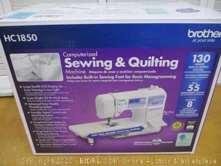 Brother HC1850, 185 Built-in Stitches Quilting Machine, LCD Display