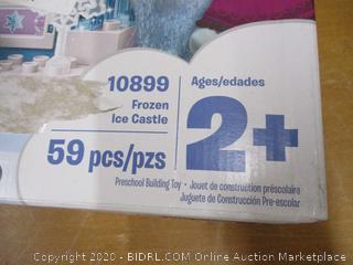 LEGO DUPLO Disney Frozen Ice Castle 10899 Building Blocks