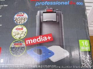 Eheim Pro 4+ 600 Filter (Retail $300)