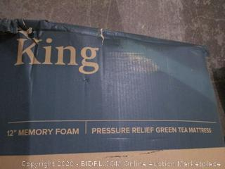 "12"" Memory Foam Mattress King Size"