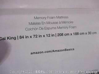 Memory Foam Mattress Cal King Size