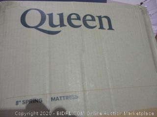 "8"" Spring Mattress Queen Size"