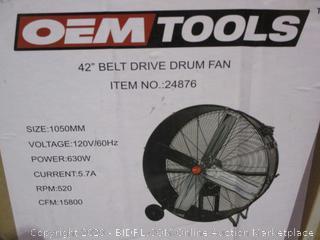Belt Drive Drum Fan