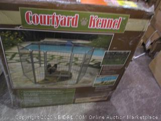 Courtyard Outdoor Kennel