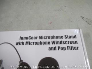 InnoGear Microphone Stand with Microphone Windscreen and Pop Filter