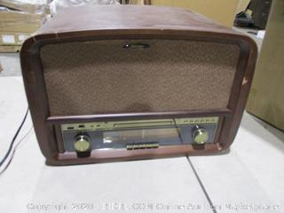 Retro Classic Music Wooden Retro HiFi Stereo System with Turntable