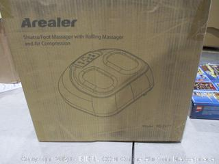 Shiatsu Foot Massager with Rolling Massager  and Air Compression