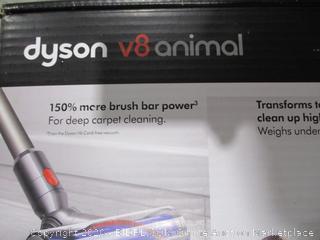 Dyson V8 animal used