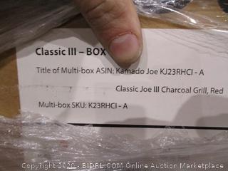 Kamado Joe Classic Joe III Red