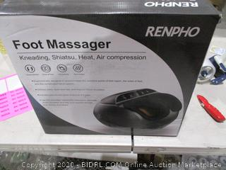 Foot Massager Kneading Shiatsu Heat, Air Compression