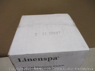 Linenspa Gel memory foam mattress topper Queen