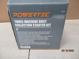 Powertec three Machine Dust Collection Starter Kit