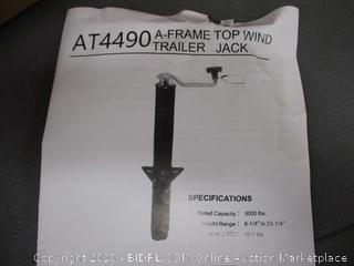 A-Frame Top Wind Trailer Jack