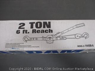 2 Ton 6 ft Reach Pow'r Pull
