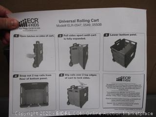 MessageStor Universal Rolling Cart