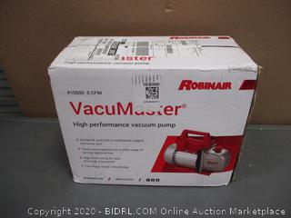 VacuMaster High Performance Vacuum pump