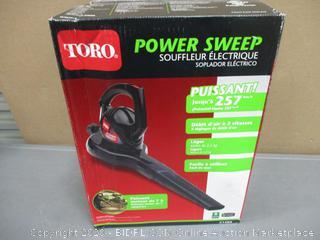 TORO Power Sweep Blower