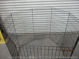 Foldable Metal Pet Exercise and Playpen