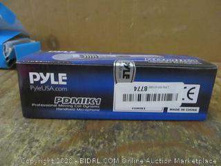 Pyle Professional Moving Coil Dynamic Handheld Microphone