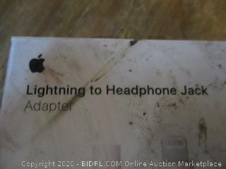 Lghtning to Hewadphone Jack